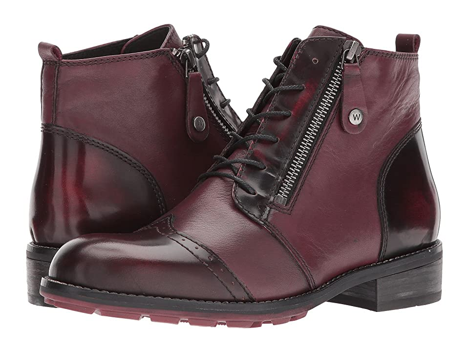 Wolky Millstream (Bordo Molde/Adder) Women