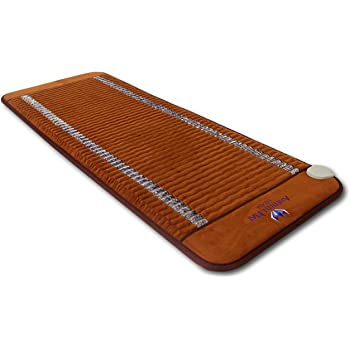 "Ereada Far Infrared Amethyst Mat - 59""L x 24""W Midsize - Adjustable 86-158F Deep Impact FIR Heating - Jewelry Natural Crystals - Negative Ions - FDA Registered Manufacturer - Original Korean Quality"
