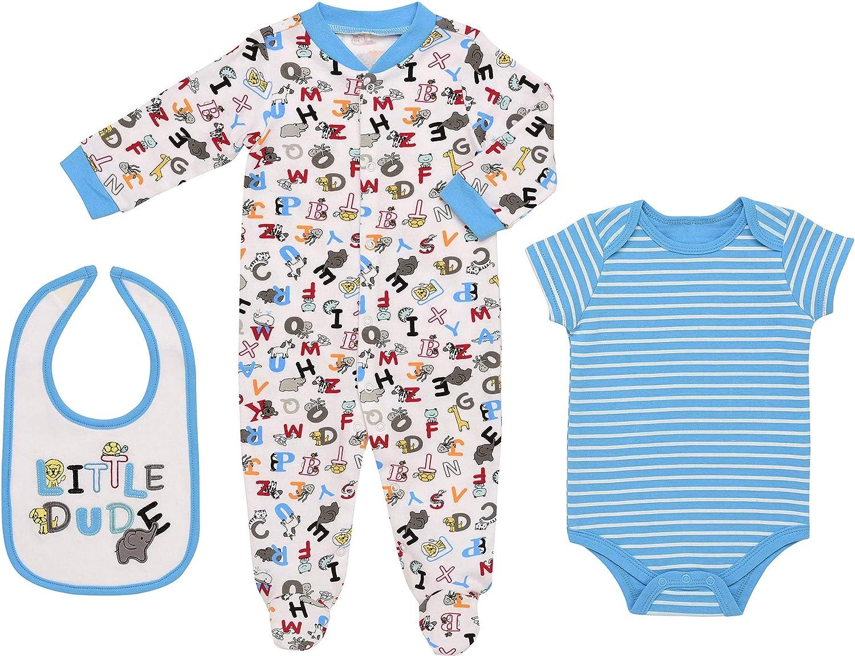 Mini B Baby Girls 3 Pvk Sleepsuits Rrp£15.00 3-6 Months