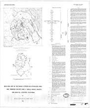 Map : Geologic map of the Baker-Cypress BLM Roadless Area and Timbered Crater RARE II areas, Modoc, Shasta, and Siskiyou Counties, California, 1980 Cartography Wall Art : 24in x 30in