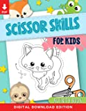 Scissor Skills for Kids: A Fun Activity Workbook for Children to Learn to Cut, Paste & Color with Cute Animals for Teachers & Homeschool Parents (Instant Digital Download PDF)