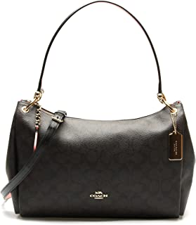 F28966 MIA Shoulder Bag in Refined Pebble Leather