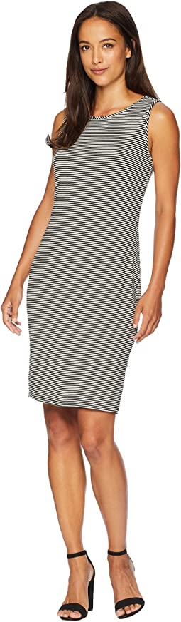 Sleeveless Chantelle Pinstripe Dress
