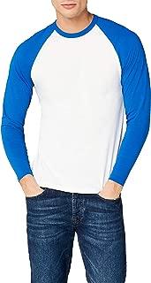 Fruit of the Loom Men's Baseball Raglan Long Sleeve T-Shirt