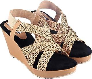 ZAISHA Wedges Sandal for Women's and Girl's