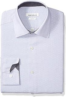 Perry Ellis Men's Slim Fit Wrinkle Free Dress
