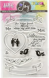 Joy Clair Song of Solomon | Bible Journaling Clear Stamps,