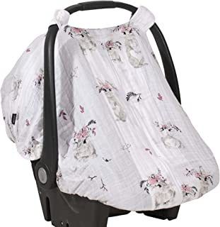 Simple and Secure - Simple to Install Easy-snap Straps Make The Premium Muslin Car Seat Cover a Breeze to Install