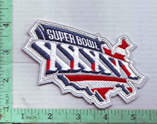 2002 Super Bowl XXXVI Patch Superbowl 36 Embroidered Championship SB Iron On 4.5
