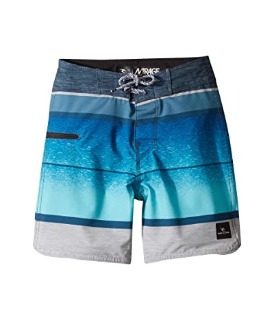 Rip Curl Kids Mirage Clearwater Boardshorts (Big Kids) (Blue) Boy