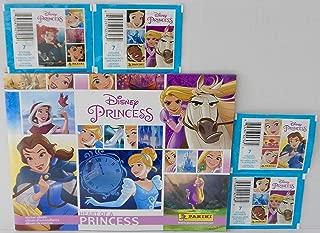 Disney Princess Heart of A Princess Sticker Album and 4 Packs of Stickers Bundle