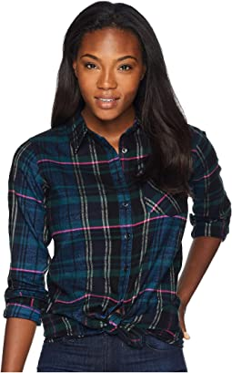 Penny Plaid Tunic Shirt