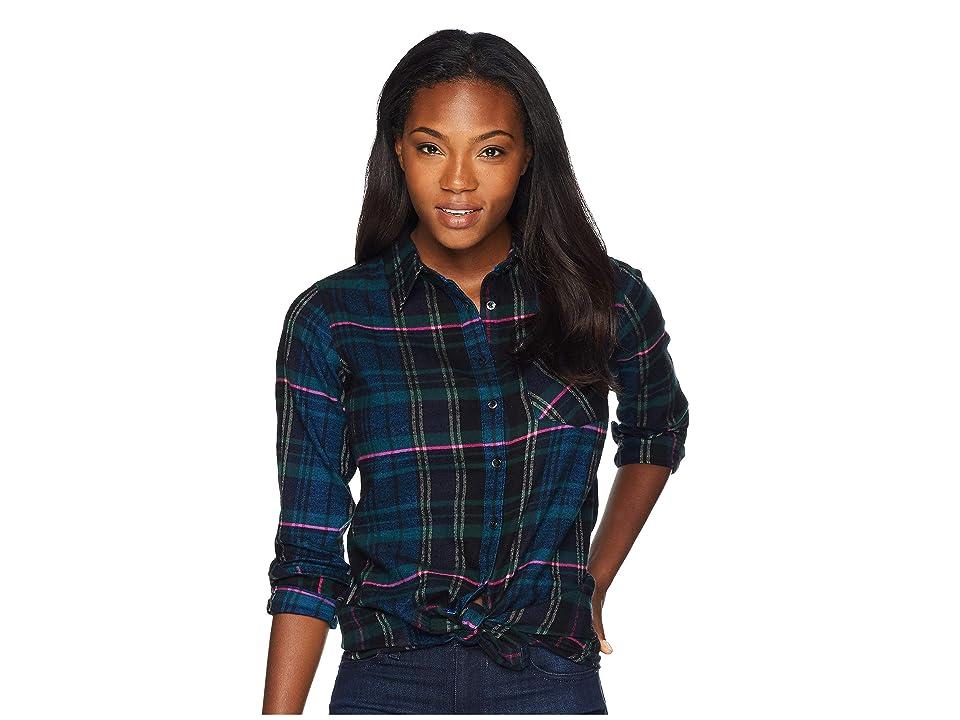 Mountain Khakis Penny Plaid Tunic Shirt (Black) Women
