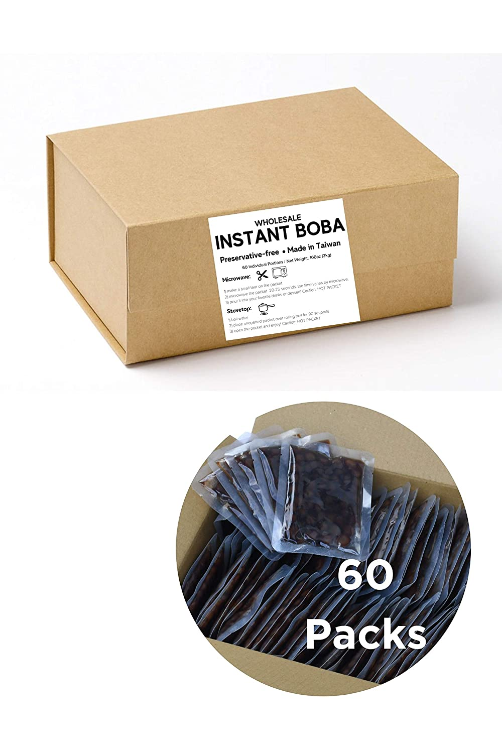 Buy Wholesale Instant Boba 20 Packets   NET WEIGHT 20.20 LB 20 KG ...