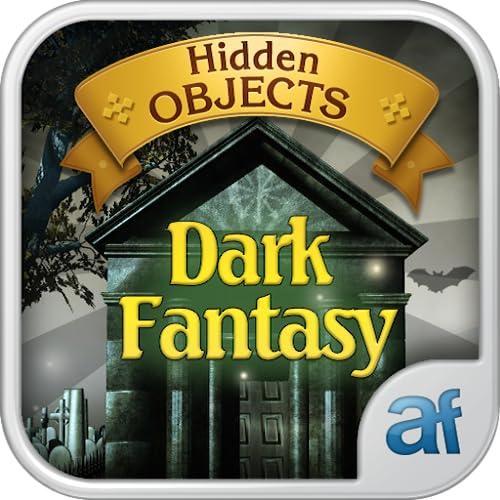 Hidden Objects Dark Fantasy & 3 puzzle games