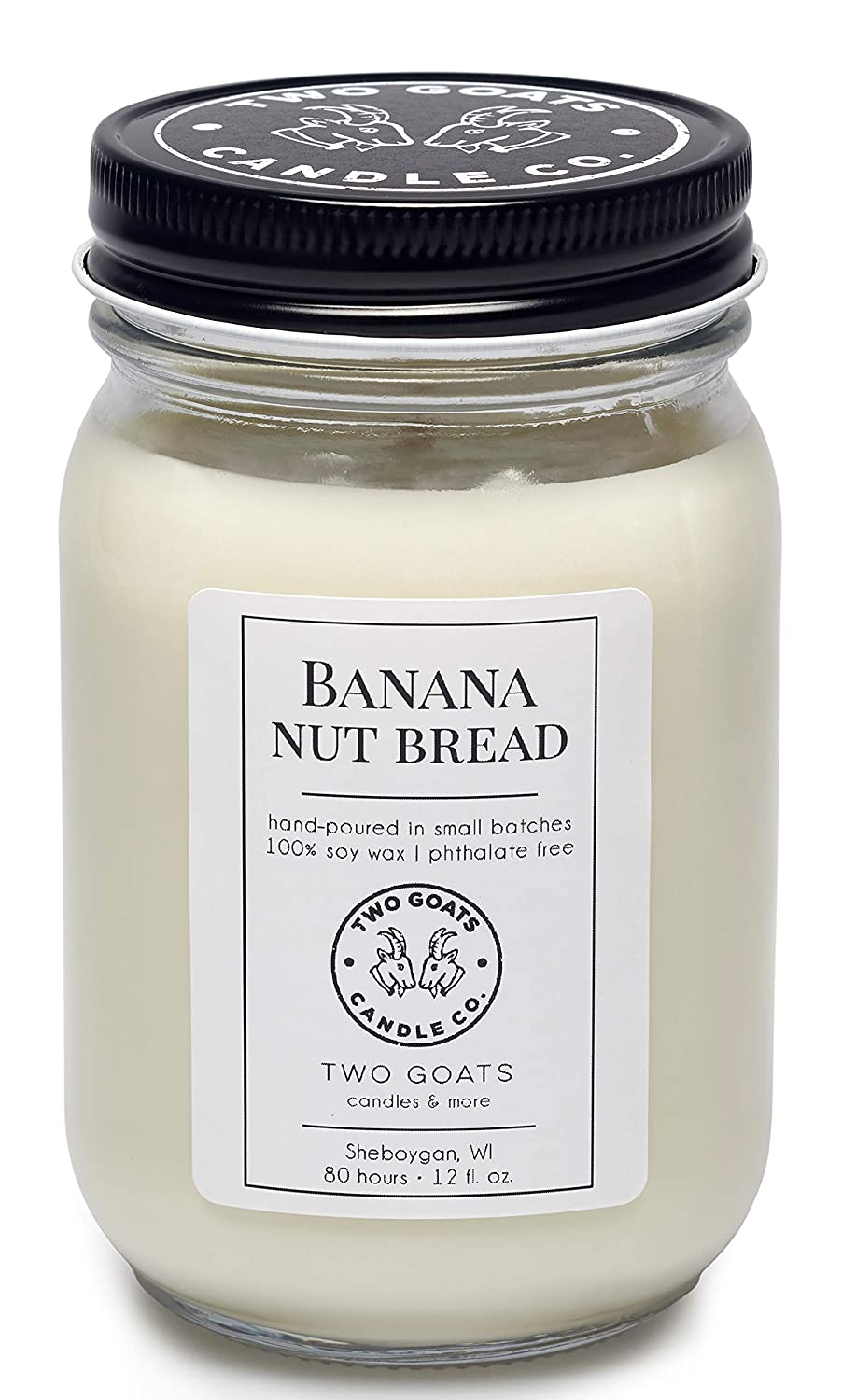 Banana Max 63% OFF Nut Bread Scented Soy Candle USA Hand in the 2021 spring and summer new 1 Poured