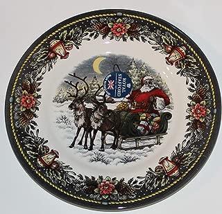 Royal Stafford Santa's Sleigh Christmas Dinnerware Sets - Set of 4 (Salad Plates)