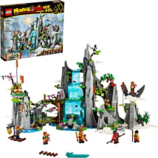 LEGO Monkie Kid The Legendary Flower Fruit Mountain 80024...