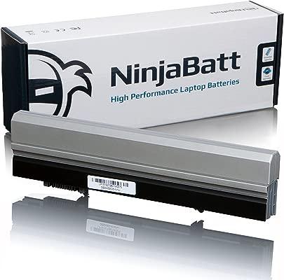 NinjaBatt Laptop-Akku f r Dell XX327 XX337 Latitude E4300 E4310 8R135 FM332 FM338 0FX8X HW905 451-11460 CP294 HW898 312-0823 451-10638 312-9956 Hohe Leistung  6 Zellens 4400mAh 49wh
