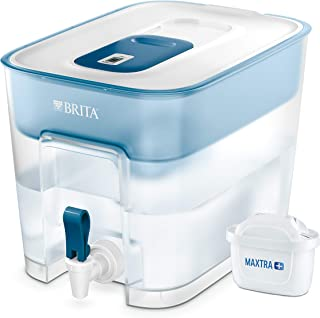 BRITA Flow 滤水箱和滤芯,8.2L,蓝色