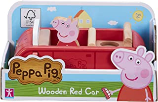 Peppa Pig 07208 Wooden Red Car