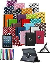 mobibax Prime Custom Made Funda Tablet con 360° rotación y función Soporte y lápiz Stock Debe Go * * Morado Dark Purple HTC Google Nexus 9-8.9 Inch (2014)