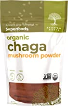 Ancestral Roots Organic Chaga Mushroom Powder - 100% Pure, USDA Certified Organic Chaga Mushroom Powder – 4oz