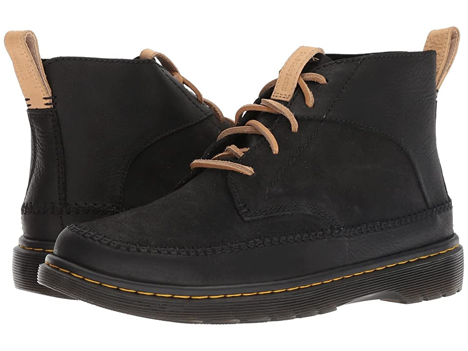 Dr. Martens Flloyd Revive (Black Mesa/Black Waxy Suede Waterproof) Men