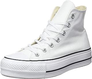 converse platform high top white