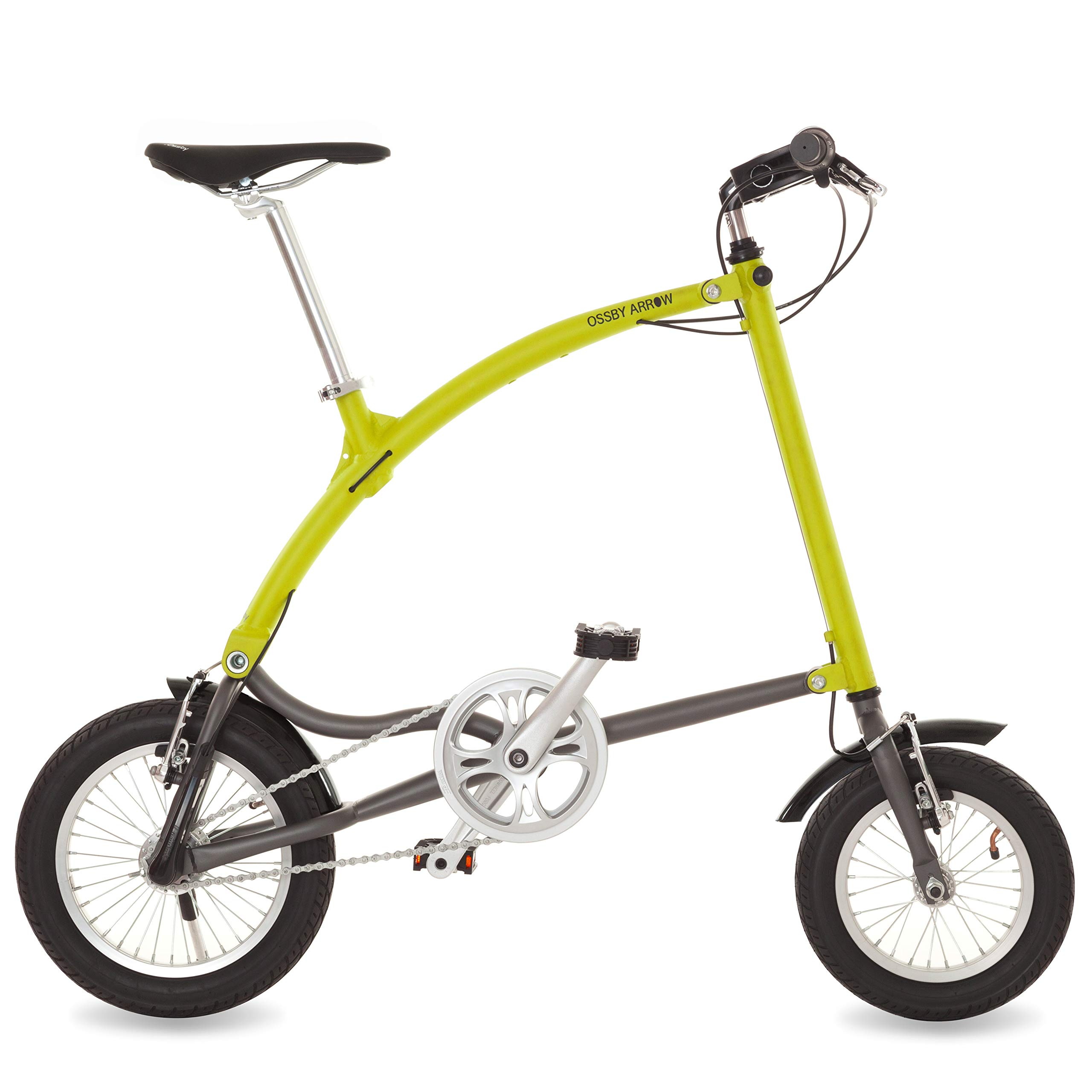 Ossby Arrow Bicicleta Plegable 3 velocidades (Amarillo): Amazon.es: Deportes y aire libre