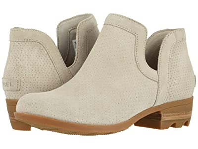 SOREL Lolla Cut-Out Bootie (Soft Taupe) Women