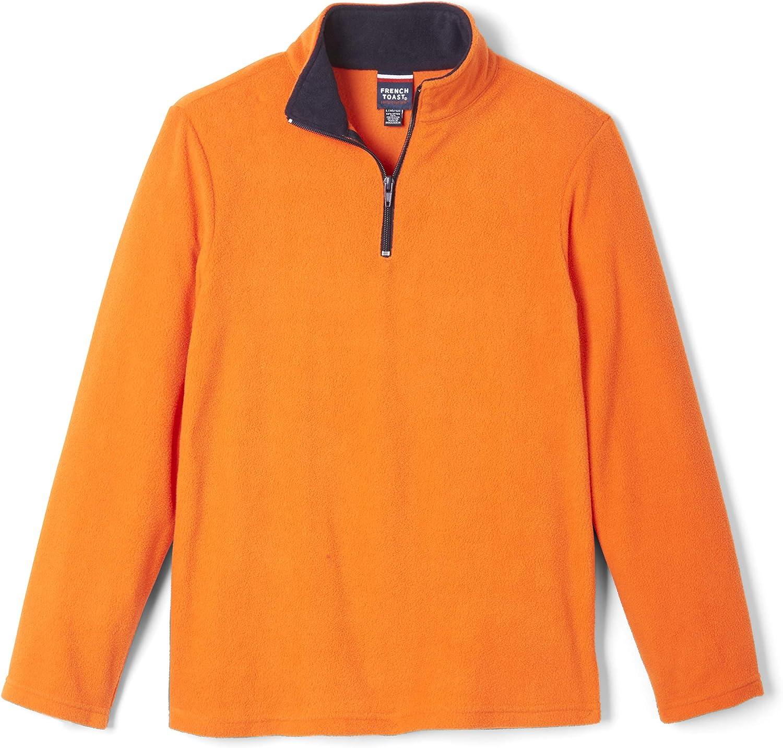 French Toast Boys' Long Sleeve Microfleece Sweatshirt