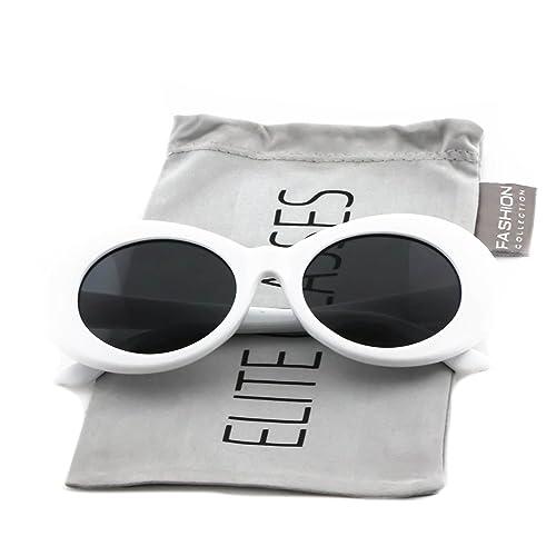 0a49e022 Clout Goggles Oval Mod Retro Thick Frame Rapper Hypebeast Eyewear Supreme  Glasses Cool Sunglasses