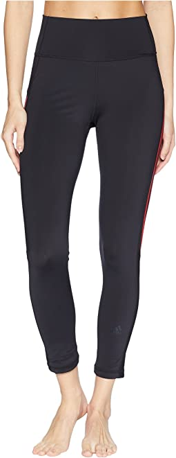 Believe This High-Rise Heathered 3-Stripes 7/8 Tights