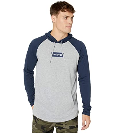 Hurley Premium One Only Box Pullover (Obsidian/Dark Grey Heather) Men