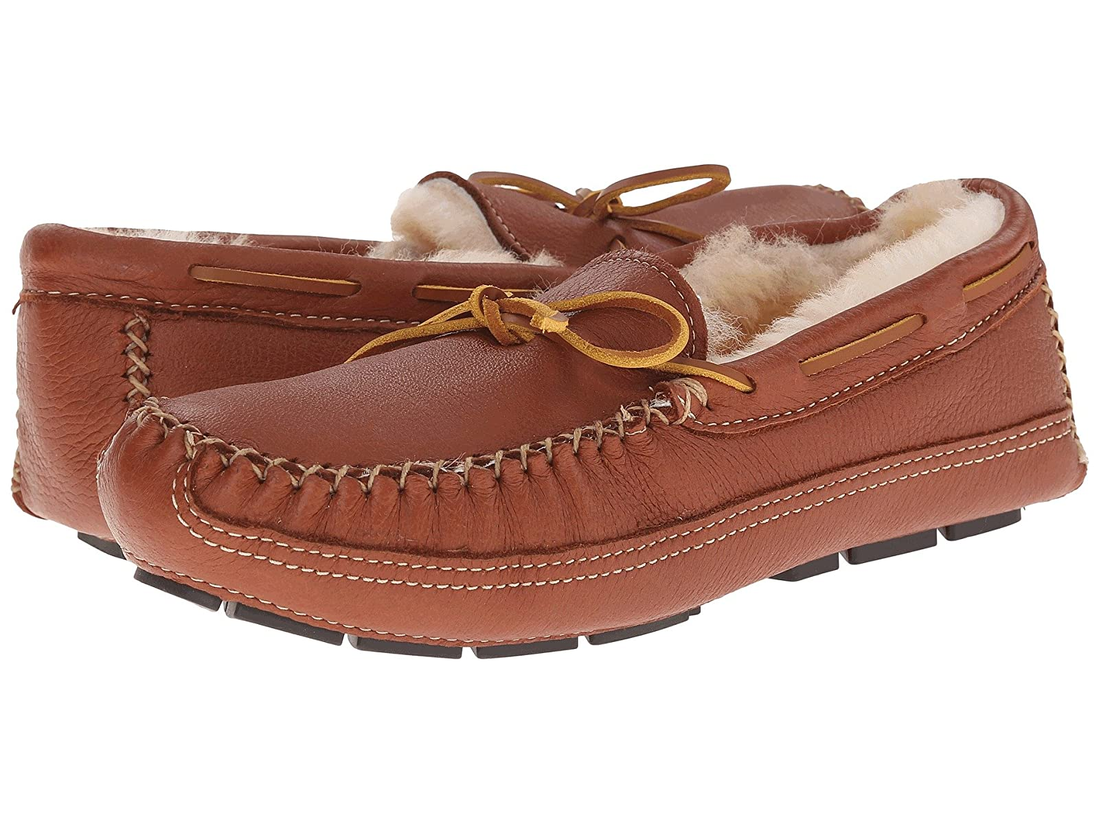 Minnetonka Sheepskin Lined Moose SlipperAtmospheric grades have affordable shoes