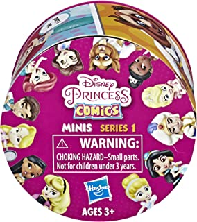 "Disney Princess Comics 2"" Collectible Dolls Series 1 to 4 (Series May Vary. Subject to Availability.)"