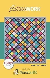 Christa Quilts Latticework Quilt Pattern by Christa Watson