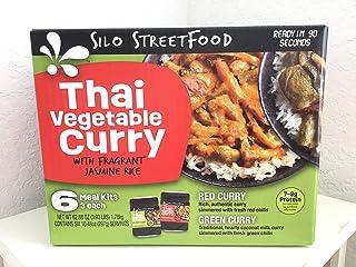 Silo Streetfood Thai Vegetable Curry w/ Fragrant Jasmine Rice (6 Meal Kits)