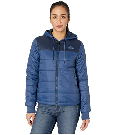 The North Face Pardee Insulated Jacket (Shady Blue/Urban Navy) Women