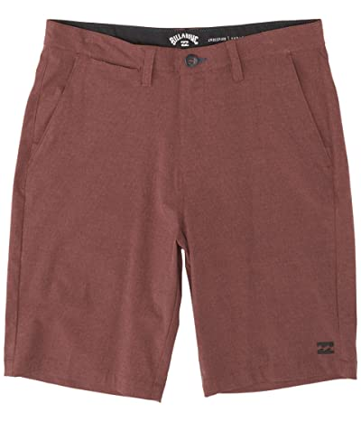 Billabong 21 Crossfire Submersible Shorts (Burgundy) Men