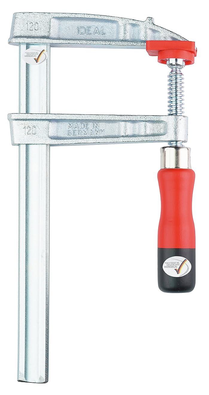 廃止する制約明らかにするBONDHUS(ボンダス) L型クランプ 標準型 最大口開き800mm×フトコロ120mm 13429