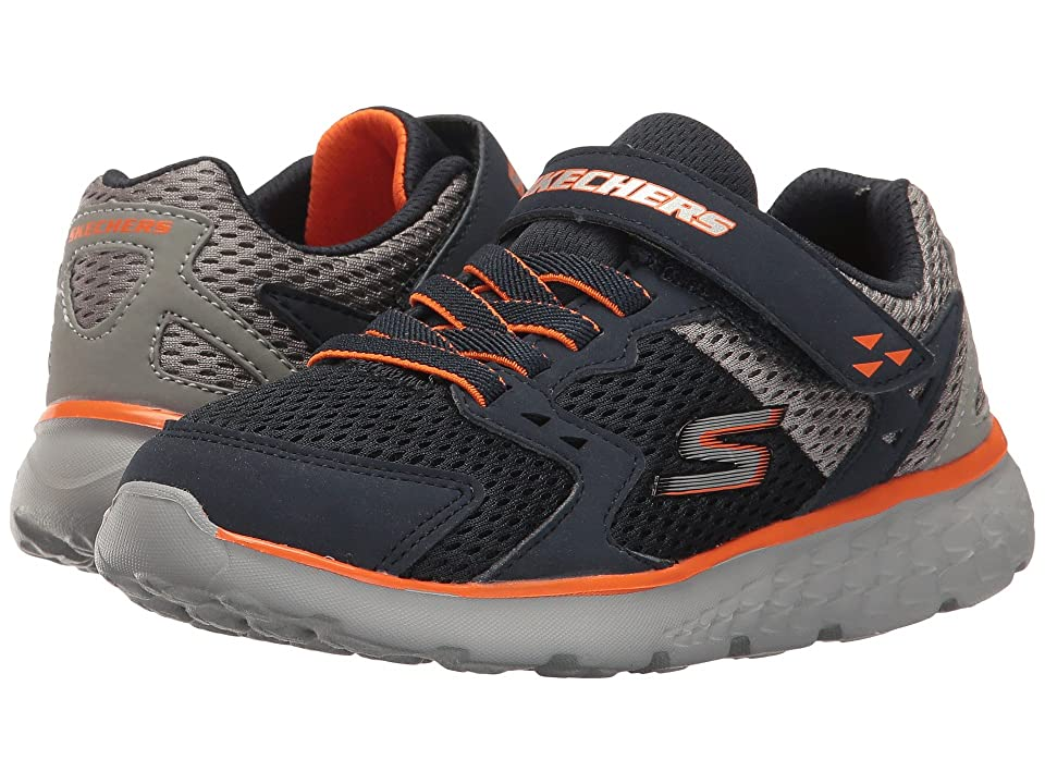 SKECHERS KIDS Go Run 400 (Little Kid/Big Kid) (Navy/Gray) Boy