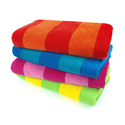 Solid Color Beach Towels Amazon Com