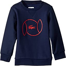 Croc Logo Sweatshirt (Little Kids/Big Kids)