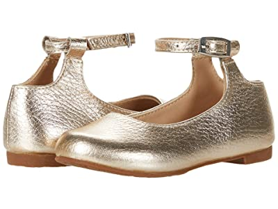 Elephantito Celina Flats (Toddler/Little Kid/Big Kid) (Gold) Girl