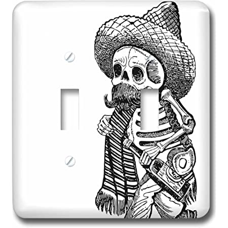 3drose Lsp 92650 2 Day Of The Dead Skeletons Santa Fe New Mexico Us32 Jmr0290 Julien Mcroberts Double Toggle Switch Multicolor Switch Plates Amazon Com