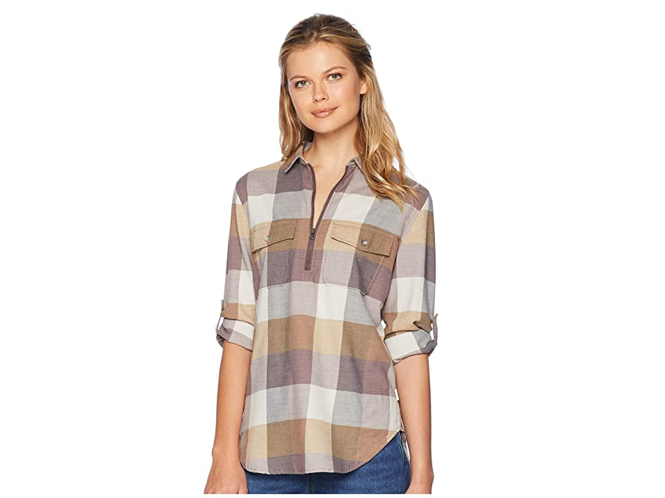Woolrich Any Point Convertible Flannel Shirt (Wild Aster Multi) Women