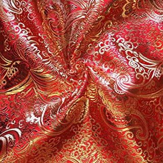 Best red and gold fabric Reviews