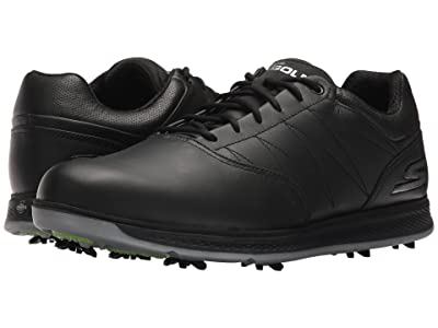 SKECHERS Performance GO GOLF Pro V.3 (Black/Silver) Men